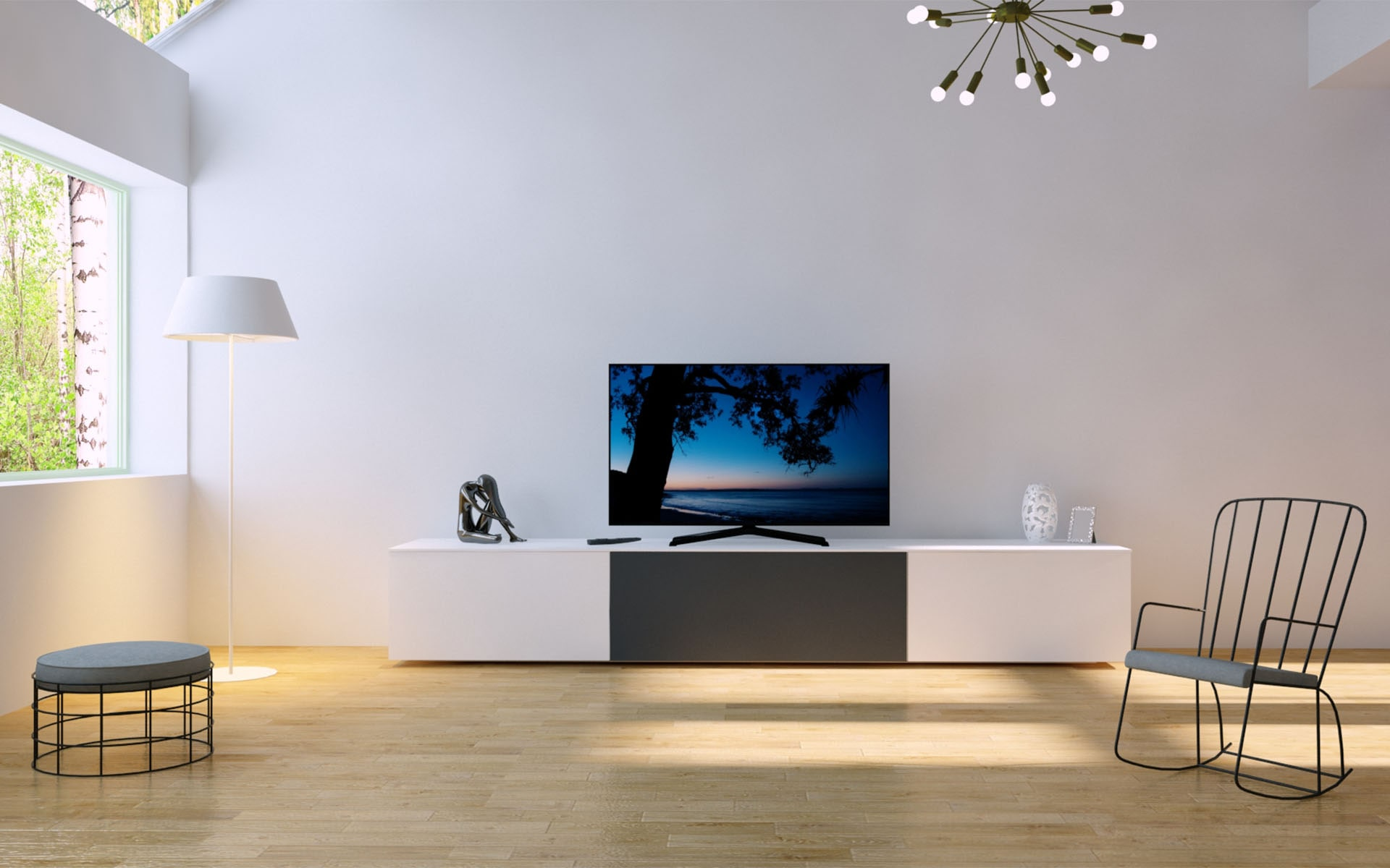 Tv Kast Op Maat Tv Kast Voor Home Cinema Soundsysteem